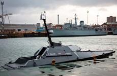 Hải quân Anh thử nghiệm siêu tàu robot kiểm soát di cư trái phép