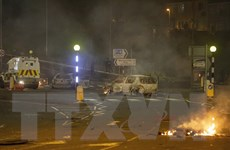 Anh: Bạo loạn tại vùng Bắc Ireland tiếp tục bùng phát