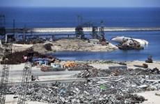 Công ty Đức công bố dự án trị giá hàng tỷ USD tái thiết cảng Beirut