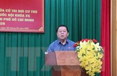 Giới thiệu Trưởng Ban Tuyên giáo TW ứng cử đại biểu Quốc hội khóa XV