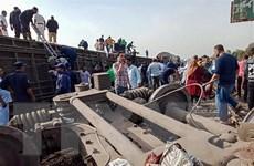 Ai Cập ra lệnh điều tra tai nạn đường sắt khiến 11 người chết