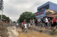 Thái Nguyên: Mưa lớn gây lũ và ngập úng, nhiều công trình bị hư hỏng