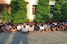 Công an Tiền Giang khởi tố 11 bị can trong vụ đua xe trái phép