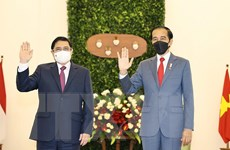 Việt Nam củng cố và mở rộng quan hệ Đối tác chiến lược với Indonesia