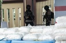 Indonesia phá đường dây buôn bán ma túy, thu giữ 2,5 tấn ma túy đá
