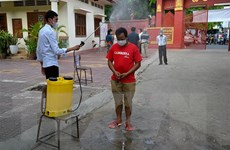 Campuchia ghi nhận hơn 840 ca mắc mới lây nhiễm trong cộng đồng