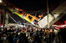 Sập cầu tại thủ đô Mexico khiến ít nhất 13 người thiệt mạng