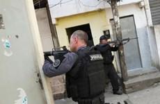Brazil: Đấu súng giữa cảnh sát và băng nhóm ma túy, 25 người tử vong