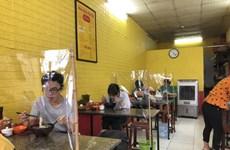 [Video] Một số quán ăn tại Hà Nội vẫn chưa đảm bảo giãn cách