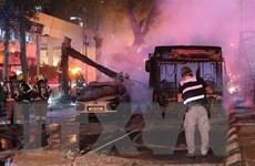Hamas không ngán không kích, tiếp tục dội bão lửa rocket vào Israel