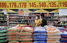 Philippines quyết định giảm thuế đối với gạo và thịt lợn nhập khẩu