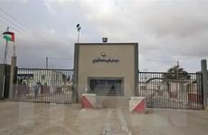 Israel lại đóng một cửa khẩu với Dải Gaza sau vụ nã pháo