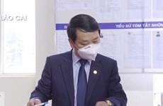 [Video] Bộ trưởng Hầu A Lềnh bầu cử đại biểu quốc hội tại thị xã Sa Pa