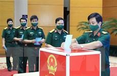 [Video] Khai mạc bầu cử tại Bộ Tư lệnh Thủ đô Hà Nội