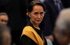 Myanmar: Bà Aung San Suu Kyi lần đầu tiên xuất hiện sau vụ bắt giữ