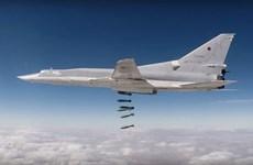 Máy bay ném bom Tu-22 của Nga lần đầu xuất hiện tại Syria