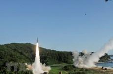 """Triều Tiên chỉ trích Mỹ dỡ bỏ """"hướng dẫn tên lửa"""" với Hàn Quốc"""