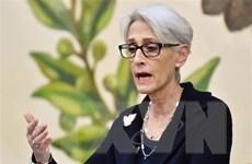 Thứ trưởng Sherman: Mỹ báo hiệu sẵn sàng đối thoại với Bình Nhưỡng