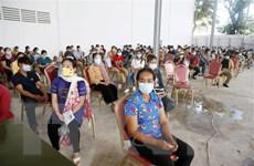 Campuchia: Số ca nhiễm mới lại tăng cao, hơn 1.000 người bình phục