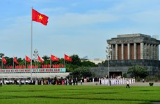 Lăng Chủ tịch Hồ Chí Minh tạm dừng lễ viếng để bảo dưỡng, tu bổ