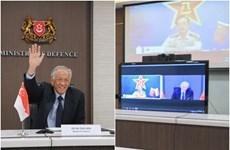 Singapore và Trung Quốc cam kết thúc đẩy hợp tác quốc phòng