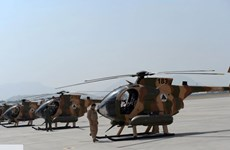 Máy bay trực thăng của quân đội Afghanistan gặp nạn, 3 người tử vong