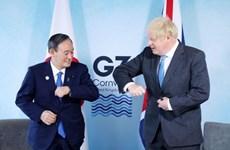Hội nghị thượng đỉnh G7: Anh và Nhật Bản cam kết thúc đẩy hợp tác