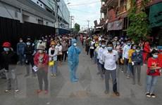 Campuchia thêm nhiều ca mới, phát hiện ổ dịch lớn tại một nhà máy