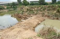 Lâm Đồng yêu cầu đơn vị khai thác cát ở sông Đa Nhim khắc phục vi phạm