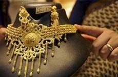 Giá vàng châu Á xuống gần mức thấp nhất trong hơn một tháng qua