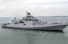 Ấn Độ điều tàu chiến diễn tập hải quân với Italy, Pháp, Tây Ban Nha