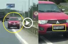 Bị phạt 17 triệu đồng vì đi ngược chiều cao tốc Hà Nội-Thái Nguyên