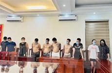 Công an Thanh Hóa bắt giữ 10 đối tượng sử dụng ma túy trong khách sạn