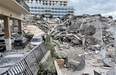[Video] Mỹ: 99 người mất tích trong vụ sập chung cư ở Miami