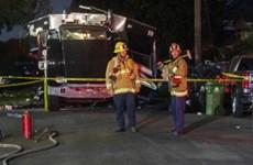 Mỹ: Nổ xe cảnh sát thu giữ pháo hoa, ít nhất 17 người bị thương
