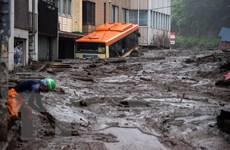 Nhật Bản tiếp tục tìm kiếm những người mất tích trong vụ lở đất
