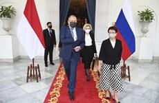 Ngoại trưởng Lavrov: Nga ưu tiên phát triển quan hệ với ASEAN