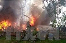 Philippines tìm thấy hộp đen của máy bay bị rơi khiến 50 người tử vong