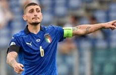 Tiền vệ tuyển Italy Verratti tự tin trước trận chung kết với Anh