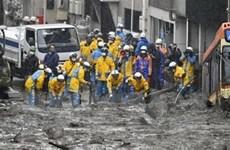 Nhật Bản yêu cầu hơn 120.000 người phải sơ tán do mưa lớn
