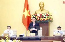 Khai mạc phiên họp thứ 58 của Ủy ban Thường vụ Quốc hội