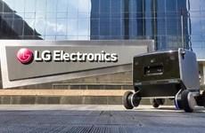 Công ty LG Electronics trình làng robot giao hàng thông minh