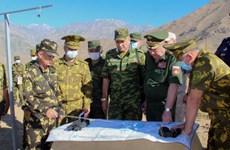 Quân đội Nga tiến hành tập trận tại căn cứ quân sự ở Tajikistan