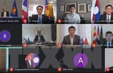 ASEAN-Mỹ hợp tác phục hồi kinh tế, giảm tác động của COVID-19
