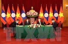 Quan hệ đoàn kết đặc biệt, hợp tác toàn diện Lào-Việt ngày càng gắn bó