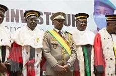 Tổng thống lâm thời Mali an toàn sau khi bị tấn công bằng dao