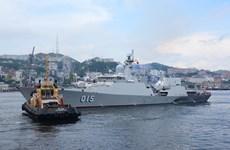 Biên đội tàu Việt Nam dự lễ duyệt binh kỷ niệm Ngày Hải quân Nga
