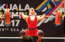 Cử tạ được kỳ vọng mang về huy chương cho Đoàn thể thao Việt Nam