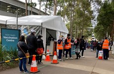 Australia: Số ca nhiễm mới COVID-19 ở New South Wales tăng cao kỷ lục