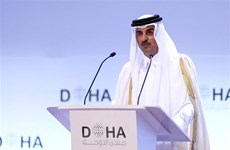 Quốc vương của Qatar ký ban hành luật bầu cử đầu tiên